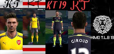PES 2013 Arsenal Full GDB 2016-17 By KIMO T.L.B 19