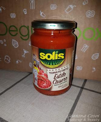 Solis Tomate Frito Estilo Casero Caja Degustabox Mayo 2016