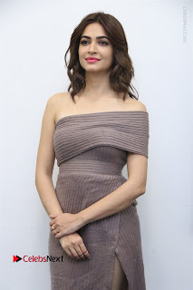 Actress Kriti Kharbanda Stills in Short Dress at Bruce Lee Movie Press Meet Stills  0026.jpg