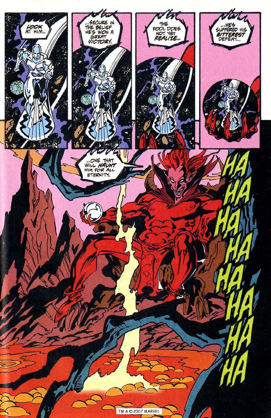 Read online Silver Surfer (1987) comic -  Issue #100 - 47