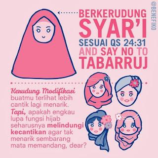 gambar hijab yang syar'i