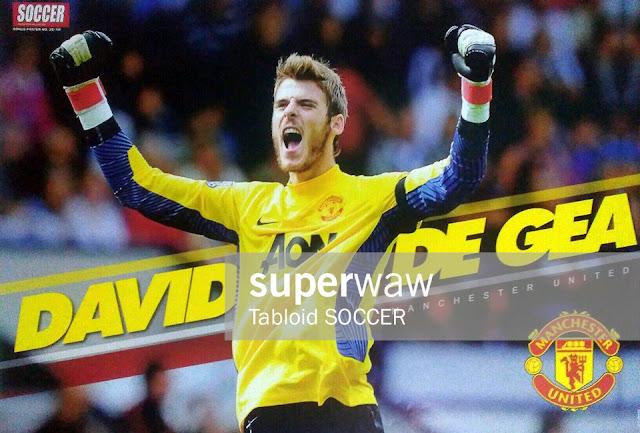 David De Gea Manchester United 2011