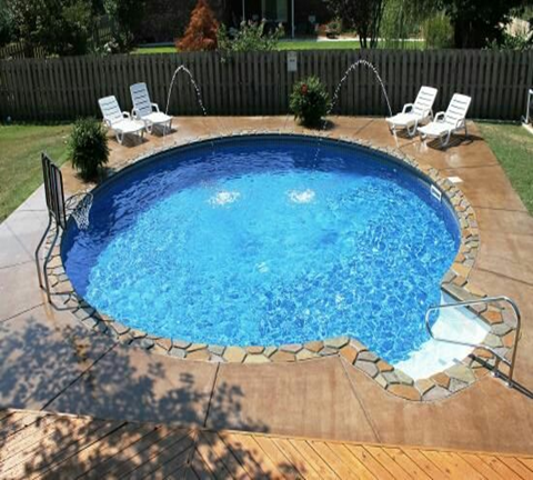 If you have limited space in your backyard but you still want to build swimming pool, small swimming is the best idea, small design but it will turn your backyard to paradise. Explore the galleries to see more great design