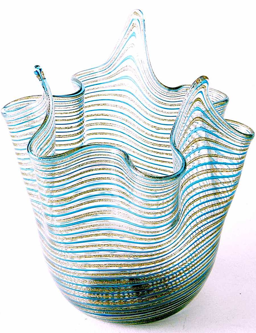 Murano art glass 1950s, a color photograph