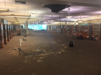 The information desk has been removed.