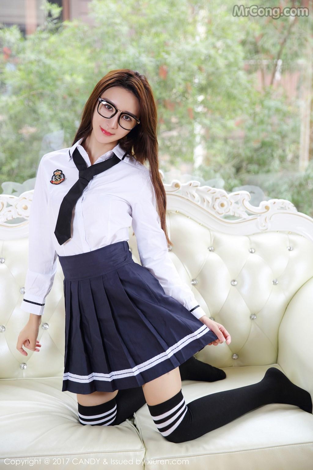 Image CANDY-2017-04-28-Vol.020-Yi-Li-Na-MrCong.com-003 in post CANDY Vol.020: Người mẫu Yi Li Na (伊莉娜) (59 ảnh)