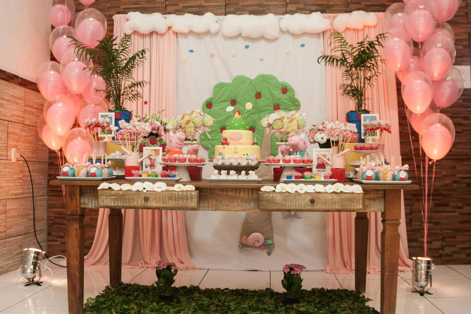 Dicas e Ideias de Como Fazer Uma Festa Infantil da Peppa Pig