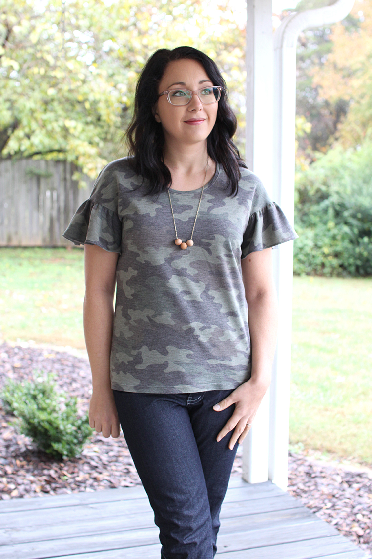 Lana Top // Sewing For Women