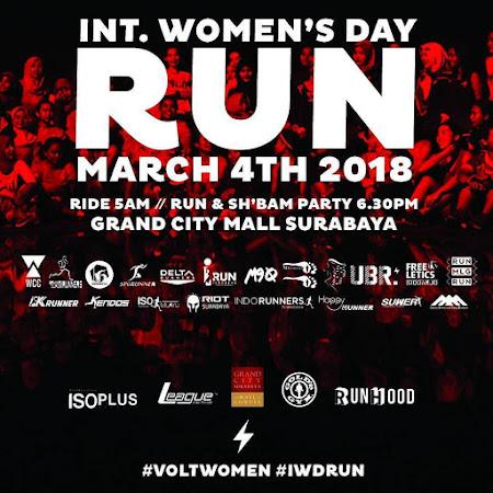 International Women's Day Run • 2018 Surabaya
