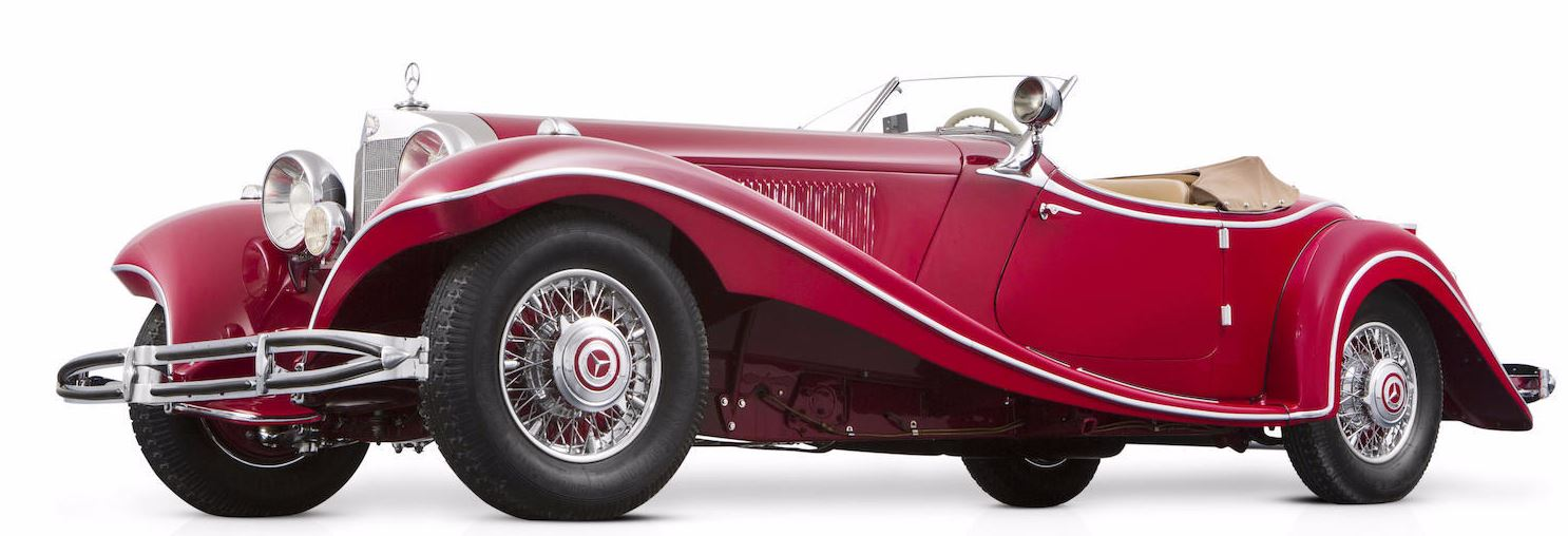 Just a car guy 1935 mercedes benz 500k special roadster for Who owns mercedes benz now