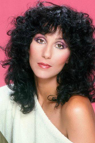 Cher 80s perm