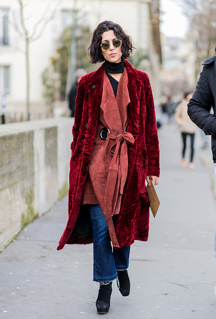 cropped flared denim, velvet, layered outfit, fall 2016, street style, spring 2016, trends, fashion week, NYFW, PFW, LFW, new york fashion week, paris fashion week, london fashion week