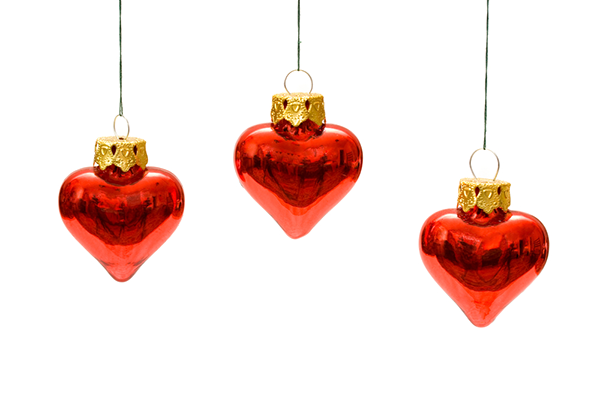 Heart-Shaped Ornaments