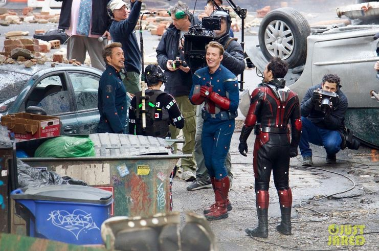 Captain America non Nomad Behind the Scene