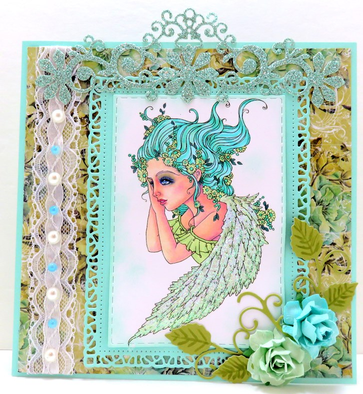Featured Card at Jo's Scrap Shack Challenge