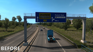 ets 2 realistic signs screenshots 2a
