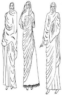 Palla yaitu busana wanita Roma di zaman republik dan kerajaan, dipakai di atas tunika atau stola