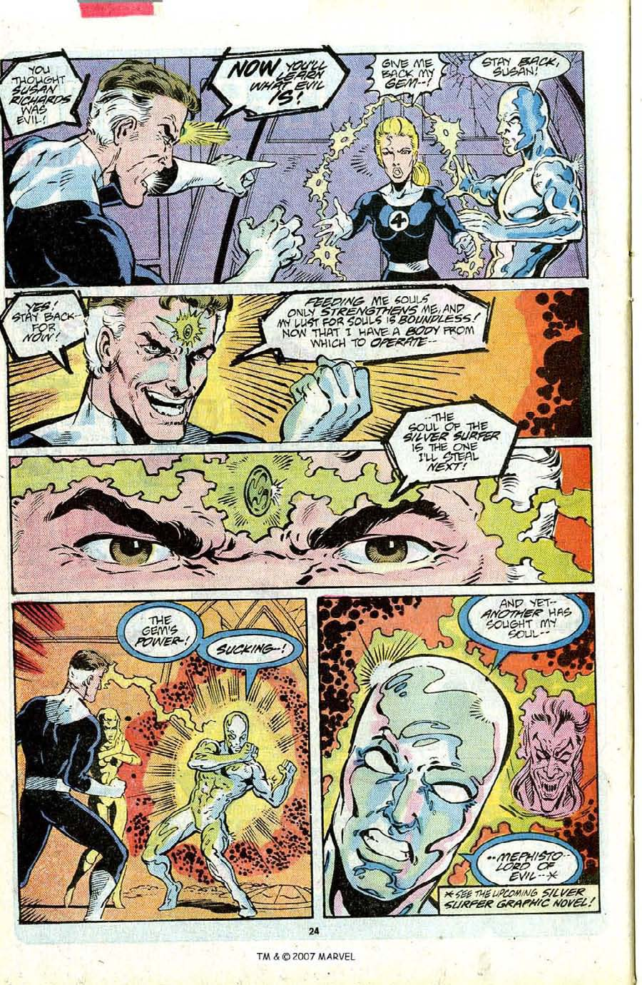 Read online Silver Surfer (1987) comic -  Issue #16 - 26