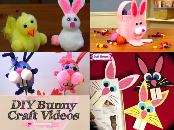 10 Amazing DIY Bunny Craft Videos To Try Right Now