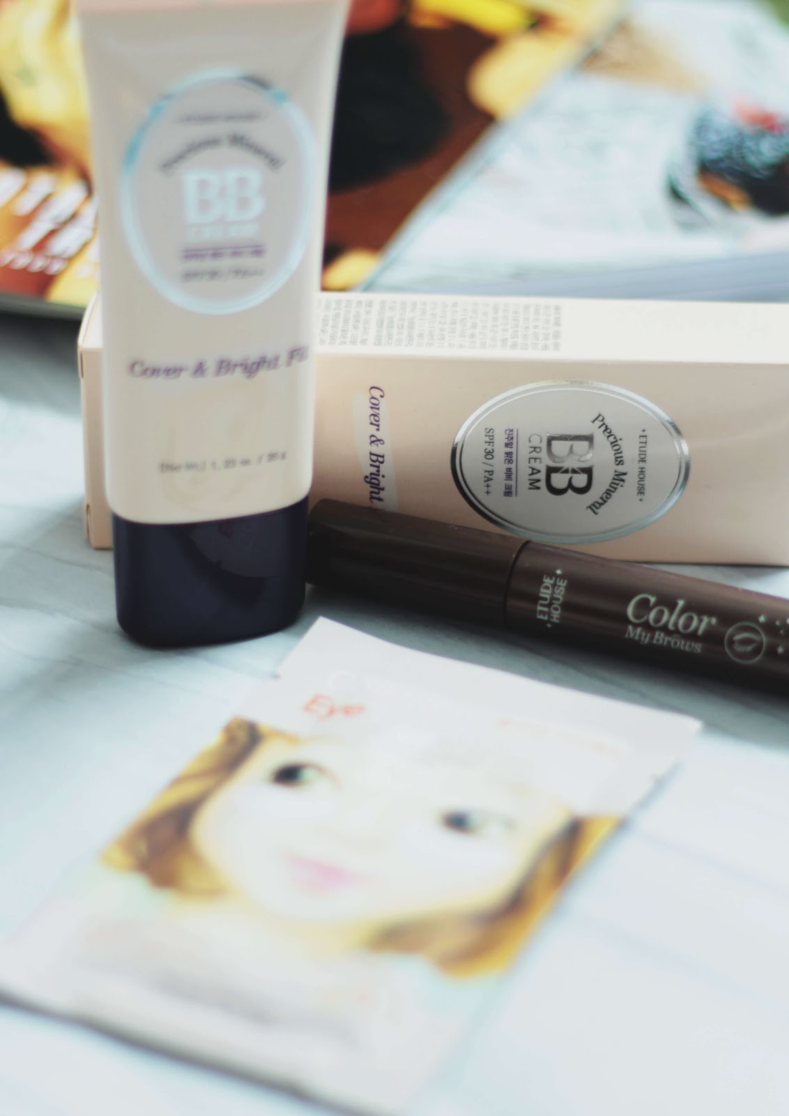 YesStyle top 10 etude house precious mineral bb cream review