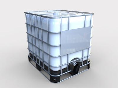 3D Model | 275 Gallon Capacity UN-Compliant Tank | Cad File 3D free
