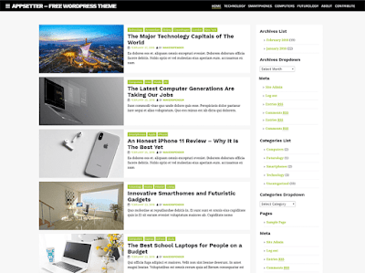 AppSetter WordPress Theme