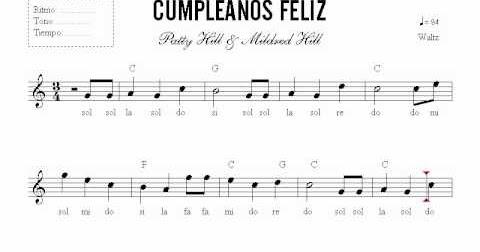Roc o d az g mez cumplea os feliz origen de la canci n - Cumpleanos feliz piano ...