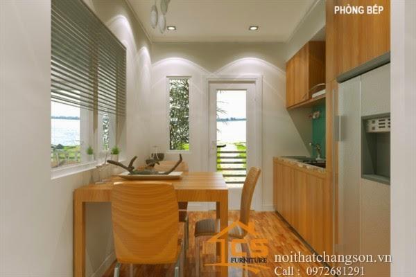 Thiết kế và thi công nội thất chung cư Đai Thanh 2 - Nội thất chàng sơn