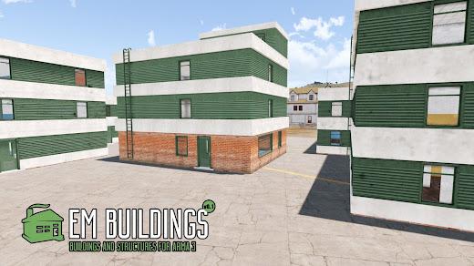 Arma3でCQB用の建物MOD