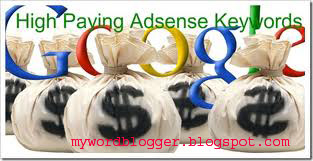 Highest Paying AdSense Keywords in 2014 Januvery edition