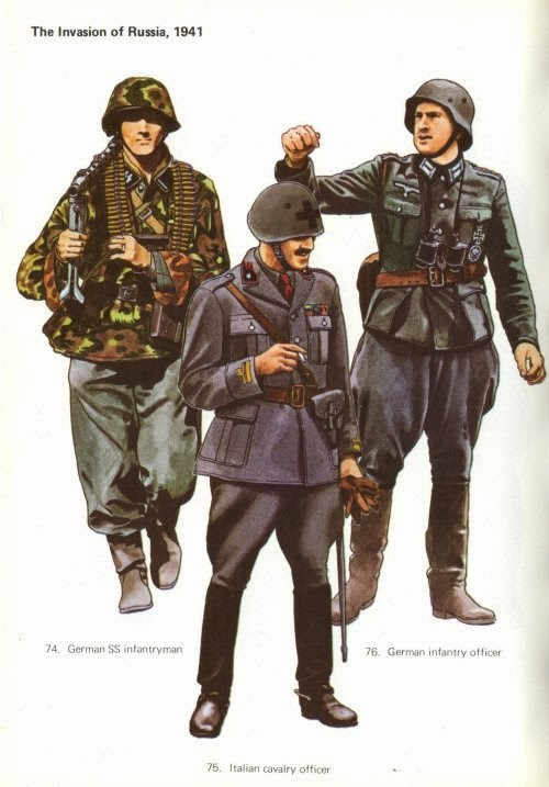 Early War German Infantry Uniforms Pictures 6