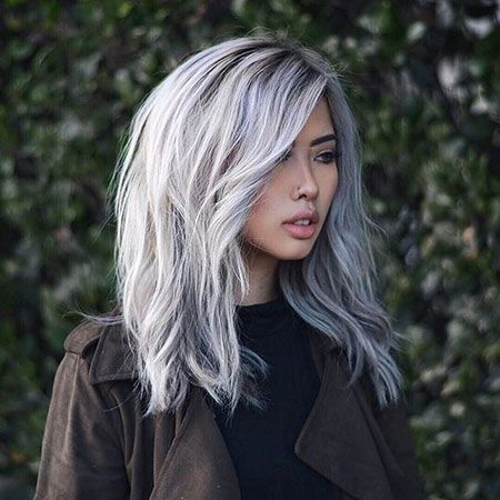 Awesome Silver Hair Omg Love Beauty
