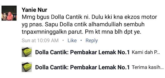 Testimoni Dolla Cantik