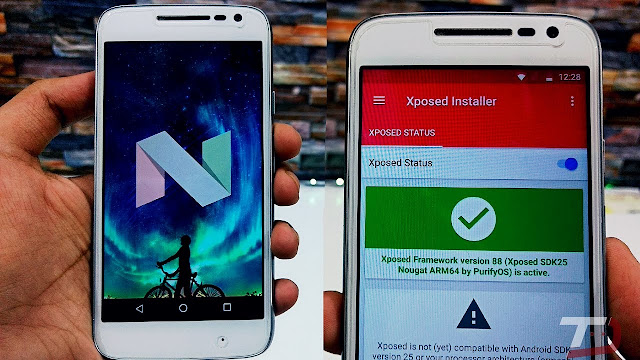 Official Xposed framework out for Android Nougat 7.1.x versions