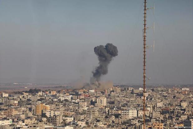 Lagi, Israel Bombardir Pos Militer Brigade Al-Qassam
