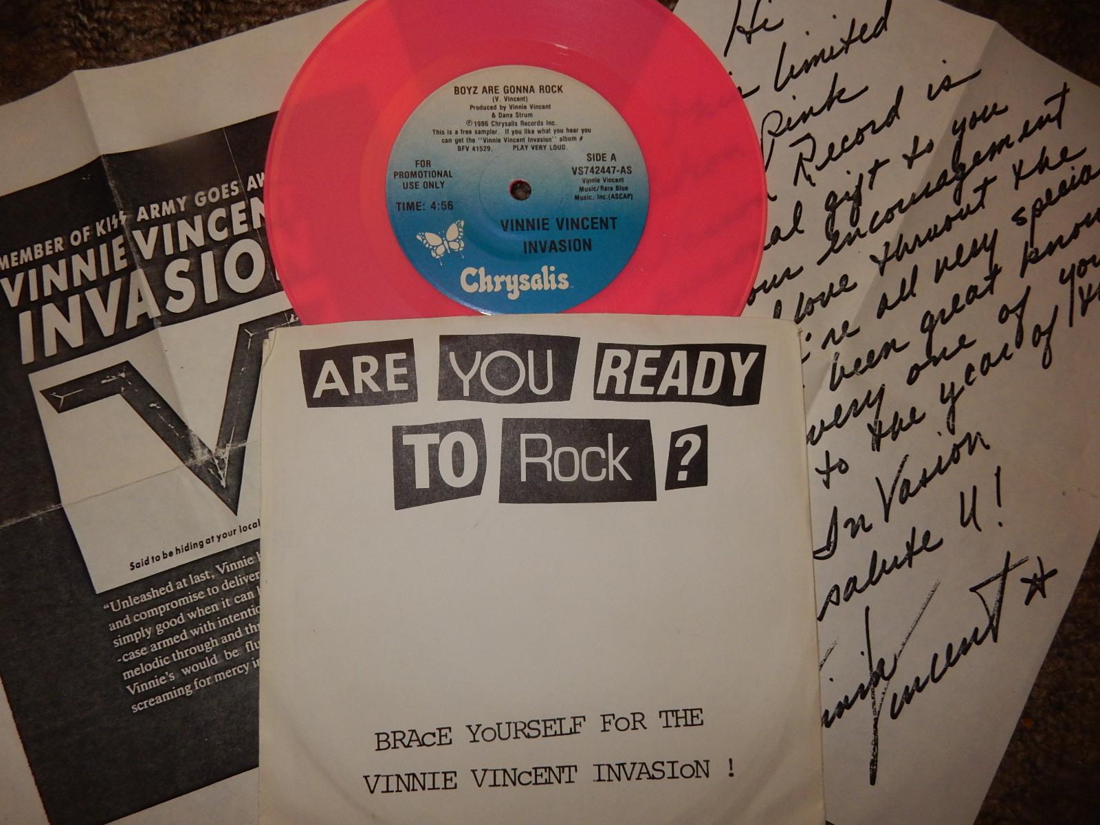 Acidica S Site Seven Inch Sunday Vinnie Vincent Invasion