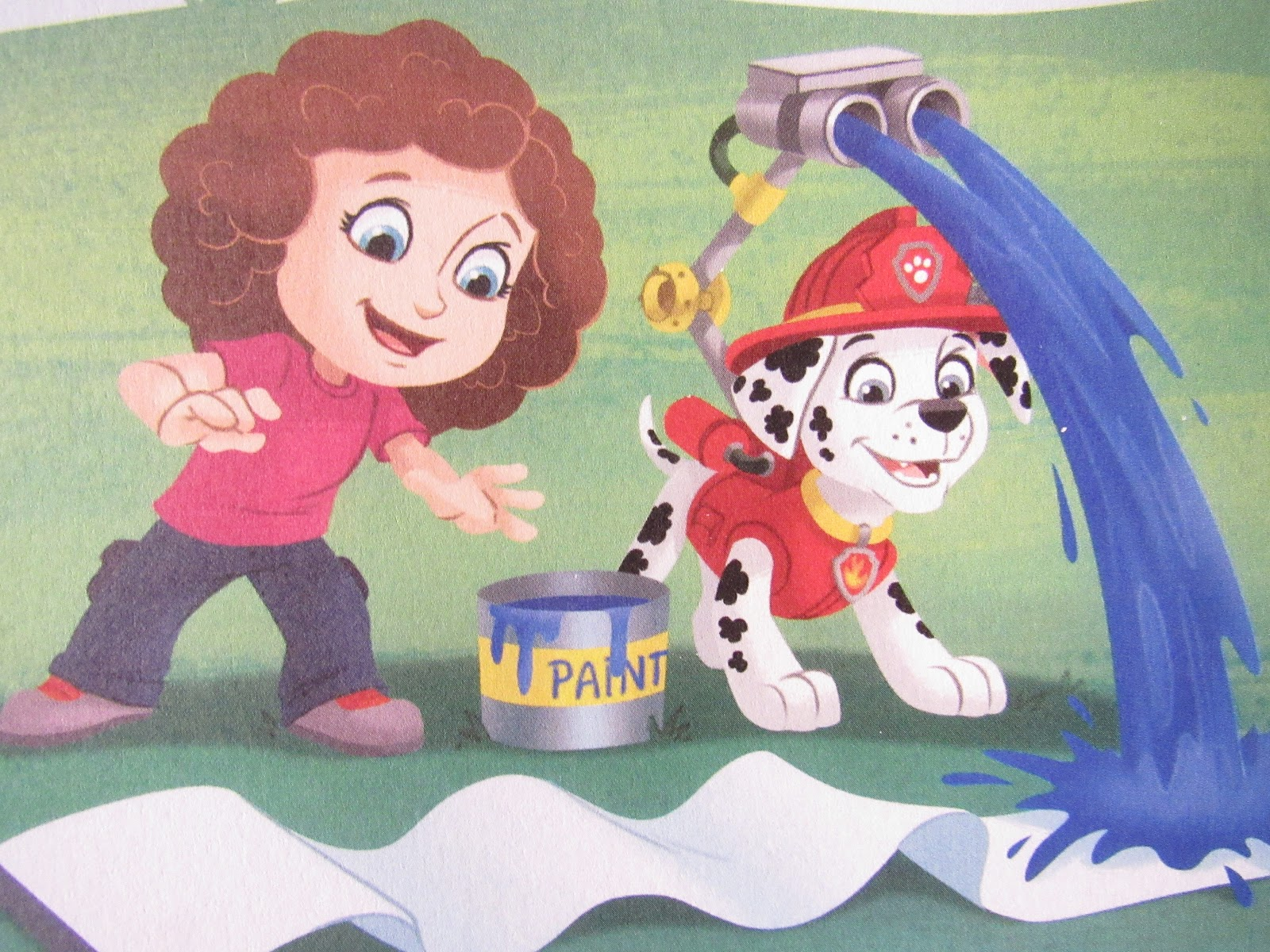 Blooming Fiction, Getting Personal With Paw Patrol