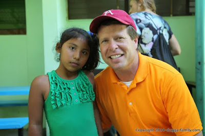 Jim Bob Duggar in Central America 2014