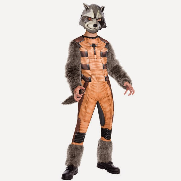 Guardians Racoon Costume
