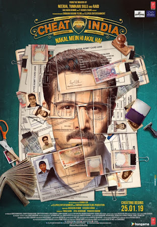 Poster Of Bollywood Movie Why Cheat India 2019 300MB Pdvd Full Hindi Movie