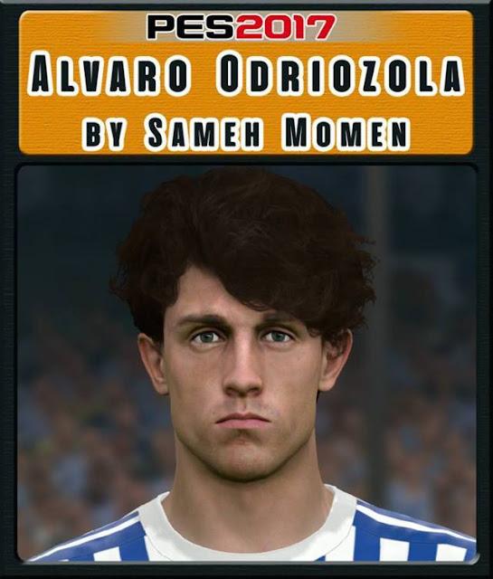 Alvaro Odriozola Face PES 2017