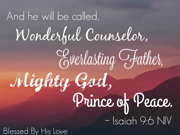 Day Two: The Wonderful Names of Jesus (Isaiah 9:6-7)