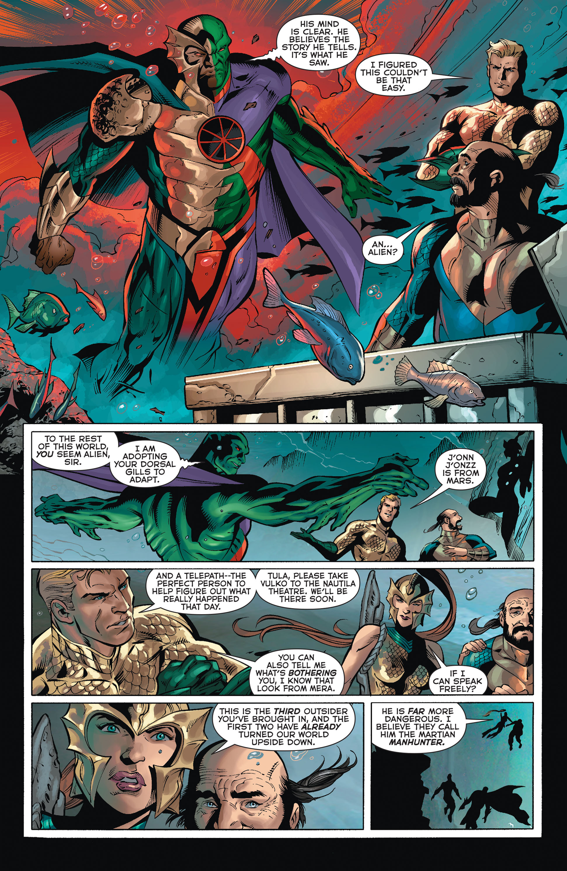 Read online Aquaman (2011) comic -  Issue #36 - 4
