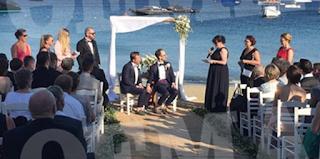 Μύκονος: Ο πρώτος yκέι γάμος της χρονιάς από Γερμανούς