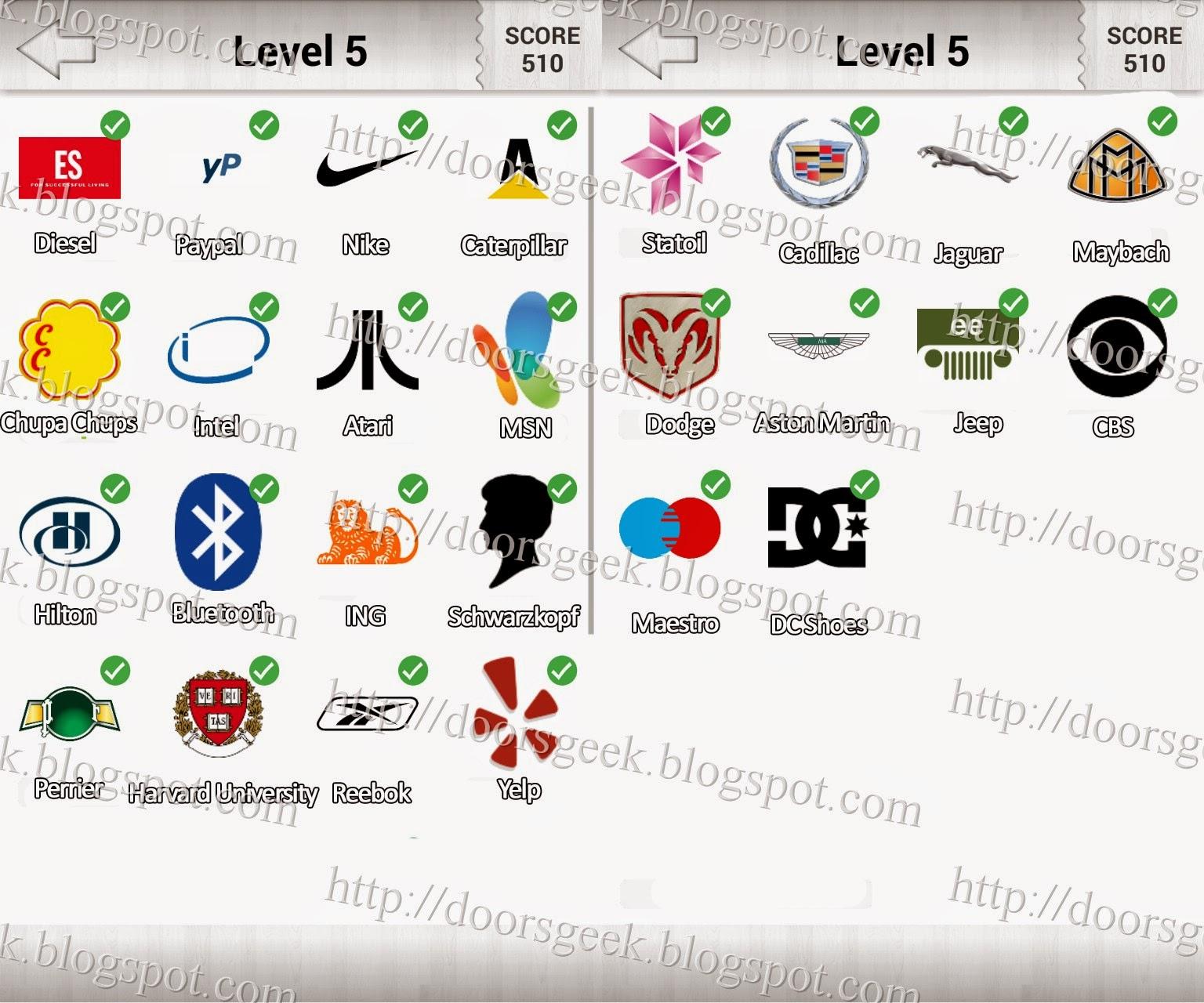 Logo Quiz! Level 5 (Candy Logo)