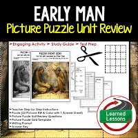 Early Man, World History Test Prep, World History Test Review, World History Study Guide, World History Games, Ancient World History Bundle, Ancient World History Curriculum