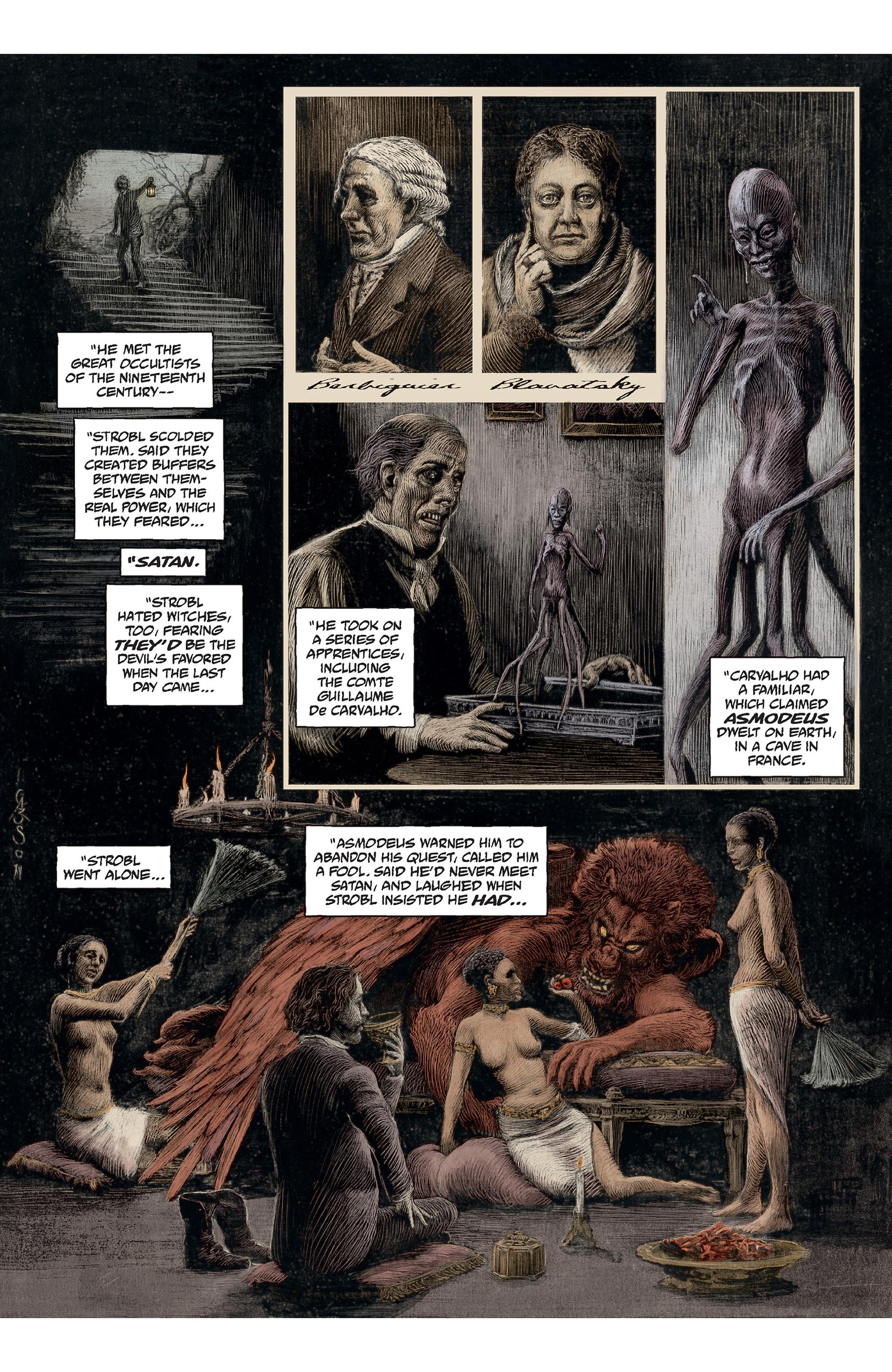 Read online Abe Sapien comic -  Issue #30 - 15