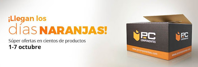 Top 25 ofertas Días naranjas de PcComponentes