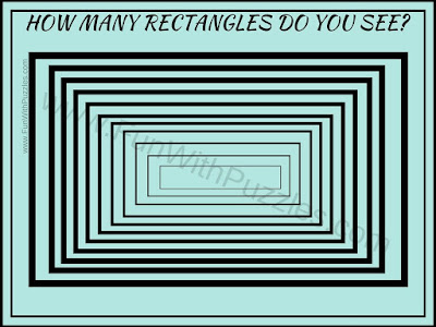 Rectangles Counting Picture Puzzle